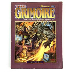 Shadowrun FASA 7903 THE GRIMOIRE Manual of Practical Thaumaturgy Sourcebook Hume