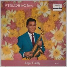HERBIE FIELDS SEXTET: Fields in Clover '59 FRATERNITY Jazz LP DG OG Rare