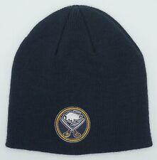 NHL Buffalo Sabres Reebok Adult Cuffless Winter Knit Hat Cap Beanie NEW!