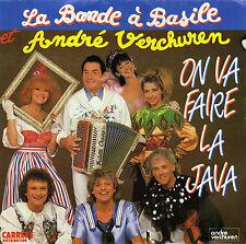LA BANDE A BASILE & ANDRE VERCHUREN ON VA FAIRE LA JAVA / INSTRU. FR 45 SINGLE