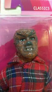 2018 MEGO ACTION FIGURE SCREAMING WEREWOLF 5083/10,000 WOLFMAN LON CHANEY