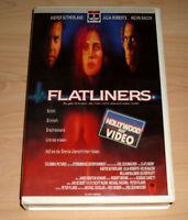 VHS - Flatliners - Kiefer Sutherland - Julia Roberts - Videokassette