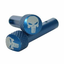 PUNISHER Blue Anodized Extended Takedown Pins for .223