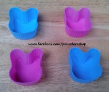4pcs Bunny Bento Tools Puto Jelly Cupcake Chocolate Baking Pan Molder Mold Cups