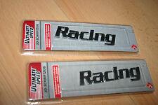 """Ultimate Speed 3D-Schriftzug""""Racing""""Auto-Aufkleber,Emblem  Schild Tuning 2 Stück"""