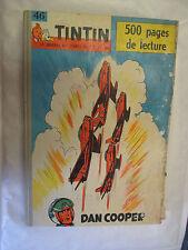 Recueil Tintin Numéro 46 Reliure du numéro 616 au 625 complet points Tintin