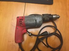 "Milwaukee 1/2"" Heavy Duty Hammer-Drill Corded 4.5A Electric 5378-20 dual speed"