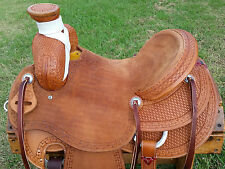 """15.5"""" Spur Saddlery Ranch Roping Saddle (Made in Texas)"""