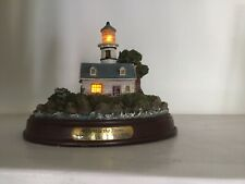 Thomas Kinkade's Lighted Lighthouse Series A Light In The Storm Limited Ed.