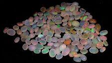 100% Natural Jumbo Fire Ethiopian AA+ Opal Rough Oval Cabochons Loose Gemstone
