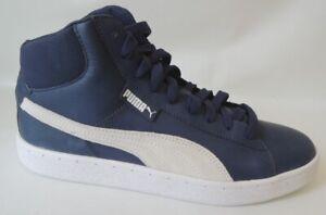 NEU Puma 1948 Mid L Men Größe 42 Leder Schuhe Boots Sneaker 359169-01 blau