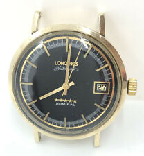 Vintage Longines Automatic Admiral 5 Star 10k Gold Filled Mens Watch RUNS GREAT
