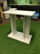 """24"""" 60cm AQUARIUM STAND CABINET IN WHITE - IDEAL FOR 54L AQUARIUMS"""