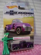 '52 CHEVY pickup #1 purple 2018 Hot Wheels WALMART CHEVROLET TRUCK 100 YR