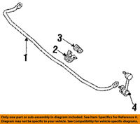 FORD OEM 94-97 Probe Stabilizer Bar-Rear-Stabilizer Bar Bracket F42Z5486A