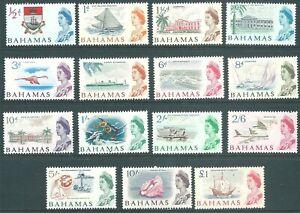 BAHAMAS 1965 QE2 mint SET