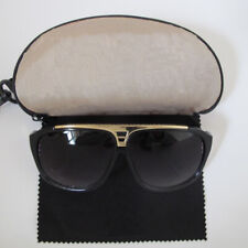 Black & Gold Millionaire Sunglasses With *FREE CASE + CLOTH*