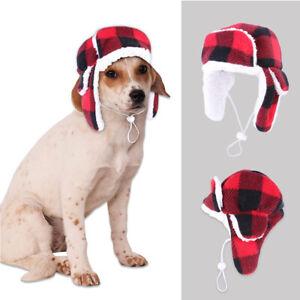 Pet Hat Autumn Winter Beret Warm Windproof Hood for Dog Golden Retriever