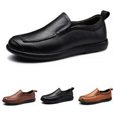 Men Leisure Leather Shoes Driving Moccasins Pumps Loafers Flats Soft Comfy New L