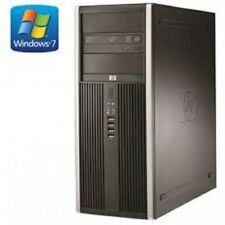 Cheap PC System Mini Tower HP 8000 E8400 Intel@3.0GHz 4GB RAM 250GB HDD Wins 7 P