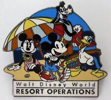 Disney Trading Pin ~ Walt Disney World Resort Operations Pin 2008 Cast Exclusive