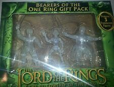 Lord of the Rings BEARERS OF THE RING GIFT SET Translucent  Figure Set