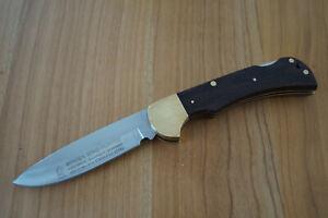 Vintage Messer -  OTHELLO  WINGEN - Mod.  STAG HUNTER - Holzgriffschalen