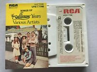 Songs of THE SULLIVANS... Rare 1978 Australian VARIOUS ARTISTS Cassette EXC