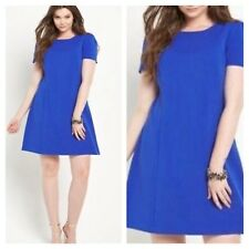 So Fabulous Size 18 Simply Cobalt Blue Tunic DRESS Evening Party Occasion Xmas