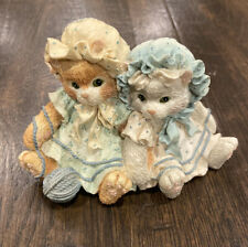 "1992 Enesco Calico Kittens ""You're Always There When I Need You� Cat Figurine"