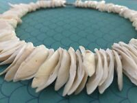 Choker Beachy Island 🌸Seashell Beaded Necklace Surfer Hawaiian Summer Boho  🌸