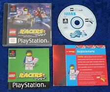 Lego Racers, PS1, PlayStation 1 Spiel, OVP und Anleitung