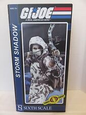 GI JOE Storm Shadow Ninja Sixth Scale Cobra Enemy Sideshow Action Figure Hasbro