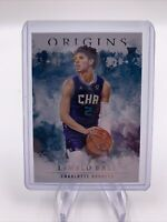 LaMELO BALL Rookie Card HORNETS--2020-21 Panini Origins Basketball #73