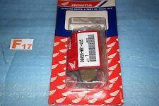2 plaquettes de frein d'origine HONDA VT 600 C SHADOW de 1988/1993 06455-MR1-405