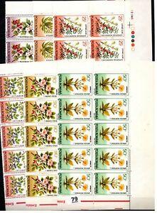 BL 10X ROMANIA - MNH - NATURE - FLORA - FLOWERS - 1993