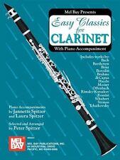 Classiques faciles pour clarinette-avec accompagnement de piano