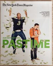 The New York Times Magazine February 2014-Super Bowl Bets Tiger Couple /Willimon