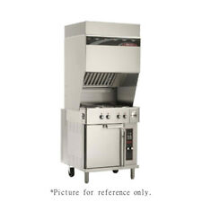 Wells WVO-4HF Electric Ventless Cooktop with 4 French Plates & Convection Oven