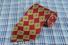 Cravates, nœuds papillon et foulards rouges HUGO BOSS pour homme en 100% soie