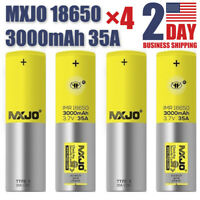 2Pcs/4Pcs IMR 35A LI-ON 3000MAH HIGH DRAIN Rechargeable LI-ON BATTERY 3.7v Home