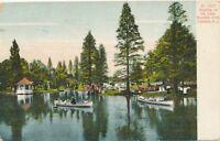 CAMDEN NJ – Woodlyn Park Boating on the Lake - 1908