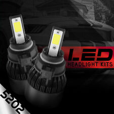 XENTEC LED HID 6000K Foglight kit 5202 12276 H16 Subaru XV Crosstrek 2013-2015