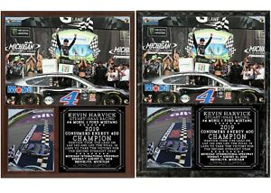 Kevin Harvick 2019 Consumers Energy 400 Champion Photo Plaque