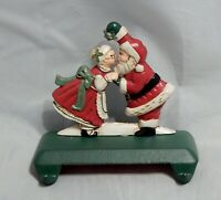 Midwest of Cannon Falls Santa and Mrs. Claus Under The Mistletoe Stocking Hanger