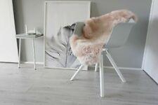 Genuine Australian Single Sheepskin Rug Extremely Soft Silky Fur Blush Pink Wool
