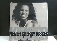 """MAXI 12"""" Promo NENEH CHERRY Kisses 96532-0 Pressage USA"""
