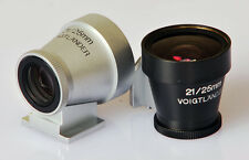 Voigtlander BLACK 21mm / 25mm Brightline Viewfinder for Leica M cameras