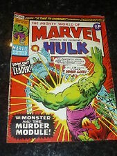 Mighty World of MARVEL Starring the INCREDIBLE HULK - No 80 - Date 13/04/1974