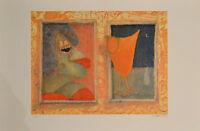 Giovanni MARANGHI  Cocktail  litografia 40x60 firmata numerata  90 esemplari